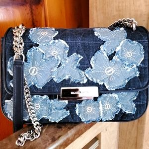 💥2 hr SALE💥 Michael Kors  Denim Flower Patch S